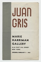 thumbnail image for <i> Juan Gris </i>