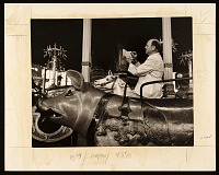 thumbnail image for Reginald Marsh sketching on the carousel at Coney Island