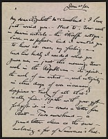 thumbnail image for Alfred Stieglitz letter to Elizabeth McCausland