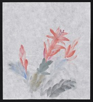 thumbnail image for Watercolor sketch of flower