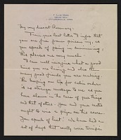 thumbnail image for F. Luis (Francis Luis) Mora letter to Rosemary Mora