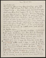 thumbnail image for Frida Kahlo, Paris, France letter to Nickolas Muray, New York, N.Y.