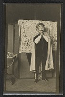 thumbnail image for Mills Thompson posing for Violet Oakley's Dante window
