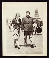 thumbnail image for Photograph of Emmy Lou Packard and Diego Rivera, San Francisco, California