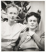 thumbnail image for Photograph of Emmy Lou Packard and Frida Kahlo in Coyoacan, Mexico