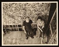 thumbnail image for Jackson Pollock and Lee Krasner in Pollock's studio