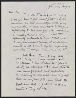 thumbnail image for Mark Rothko letter to Lee Krasner