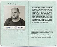 thumbnail image for Jackson Pollock's passport
