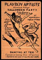 view Playboy Artists' Greenwich Village Halloween party digital asset number 1