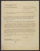 thumbnail image for Transcript of Hitler's orders to the Rosenberg Taskforce to seize cultural goods of value, translated from German to English