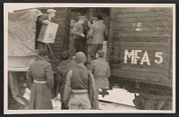 thumbnail image for Soldiers loading art onto a train at Buxheim monastery
