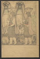 view Sketch of Native American Ceremony digital asset number 1