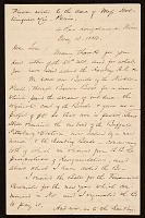 thumbnail image for F. W. (Fitzwilliam) Sargent, Nice, France letter to Thomas Sargent
