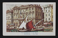 thumbnail image for Postcard with image of Marseilles Town Hall