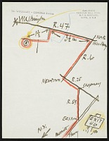 thumbnail image for Alexander Calder, Roxbury, Connecticut letter to Ben Shahn, New York, New York