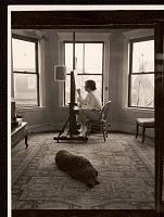 thumbnail image for Honoré Sharrer in her studio