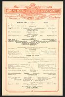 view Grand Hotel de Provence menu digital asset number 1