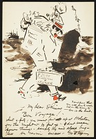 thumbnail image for George Benjamin Luks letter to Everett Shinn