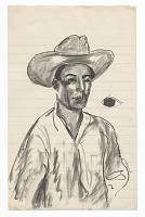 view <em>Man in hat</em> digital asset number 1