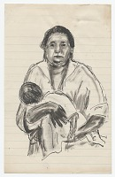 view Woman holding baby digital asset number 1