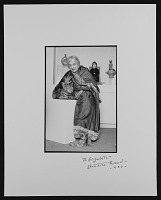 thumbnail image for Beatrice Wood with sculptures