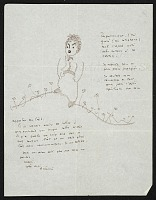 thumbnail image for Antoine de Saint-Exupéry letter to Hedda Sterne