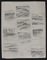 thumbnail image for Hawaii landscape sketches