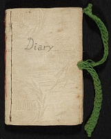 thumbnail image for Mary Thayer diary