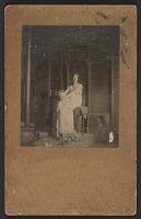 thumbnail image for Bessie Price posing for Abbott Handerson Thayer's painting <em>Stevenson memorial</em>
