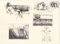 thumbnail image for Reclining Nude, Woman Reading, San Francisco Streets, Hat Rack, Deli Counter