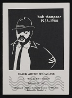 thumbnail image for Announcement for <em>Black artists showcase: a tribute to Bob Thompson</em>