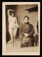 thumbnail image for Alberto Giacometti and artists' model Carmen Damedoz