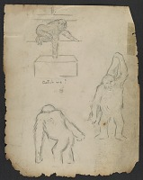 thumbnail image for Study sketches of John Daniel II