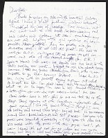 thumbnail image for Michael Lucero, New York, N.Y. letter to Patti Warashina
