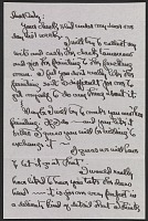 thumbnail image for Georgia O'Keeffe letter to Cady Wells