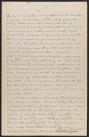 thumbnail image for Worthington Whittredge manuscript of autobiography