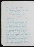 thumbnail image for Research notes on Bob Thompson, journal