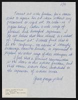 "thumbnail image for Grace Graupe-Pillard response to ""What is Feminist Art?"""