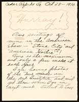 thumbnail image for Grant Wood letter to Zenobia Ness