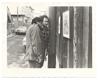 thumbnail image for Photograph of Carlos Loarca and Rupert García in Balmy Alley, San Francisco