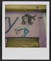 thumbnail image for Detail of a beauty salon sign
