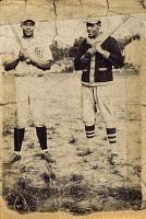 view Anacostia ACs baseball players posing with bats digital asset: Anacostia ACs baseball players posing with bats