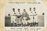 view Anacostia Aztecs baseball players, Alexandria, Virginia digital asset: Anacostia Aztecs baseball players, Alexandria, Virginia