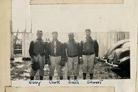 view Anacostia Aztecs baseball players (Berry, Clark, Smith, Stewart) digital asset: Anacostia Aztecs baseball players (Berry, Clark, Smith, Stewart)
