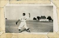 view Anacostia Aztecs baseball player throwing ball, Alexander, Virginina digital asset: Anacostia Aztecs baseball player throwing ball, Alexander, Virginina