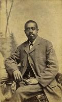 view Portrait of African American man digital asset: Portrait of African American man