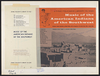 view American Indian : music of the Southwest [sound recording] / recorded ... by Willard Rhodes digital asset number 1
