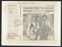 view Saturday night San Antonio [sound recording] : Tex-Mex dance music / Frank Corrales ... ; Ben Tavera King ... ; with Los Folkeros group digital asset number 1