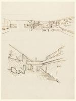 view Two Studies of the Interior, Villa Stein-de Monzie, Garches, France digital asset number 1