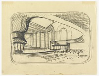 view Avon Theater, 251 West 45th Street, New York, NY: Design for Alteration to Radio Broadcasting Facility for Columbia Broadcasting System digital asset number 1